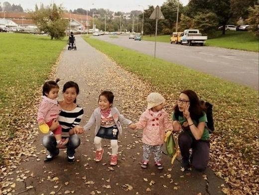 Trang Phạm cho hay, để có thể cảm nhận được không khí ngày Tết, cô cùng một số người Việt khác tự thưởng cho mình những buổi dạo phố, chụp hình kỷ niệm. (Ảnh: Trang Phạm)