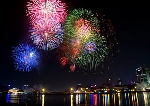 [Tết 2015] Địa điểm bắn pháo hoa Tết Ất Mùi tại các thành phố lớn trên cả nước