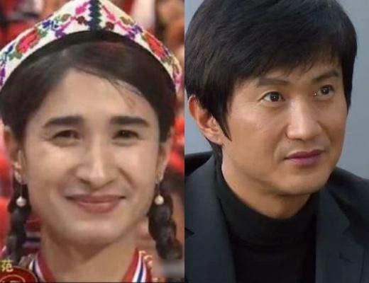 Cô có nét na ná nam tài tử Hàn Ahn Nae Sang