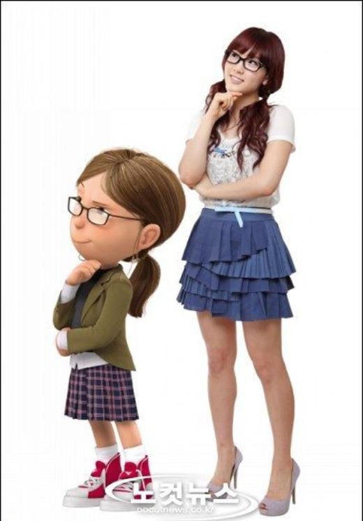 Ngoài giọng hát trời phú, Taeyeon còn sở hữu một giọng nói vô cùng truyền cảm đủ để khiến cho các fan ngất ngây khi cô lồng tiếng vào những bộ phim hoạt hình.