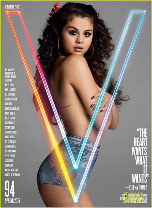 Selena Gomez lột áo, tâm sự về chuyện tình với Justin Bieber