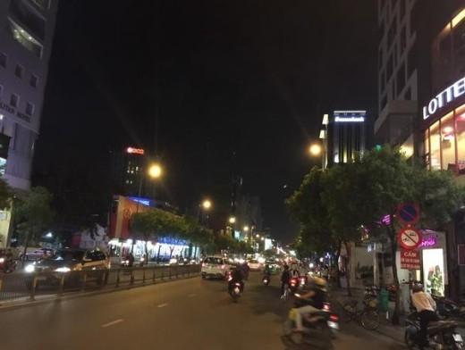 Mir thích thú với quang cảnh đường phố Việt Nam