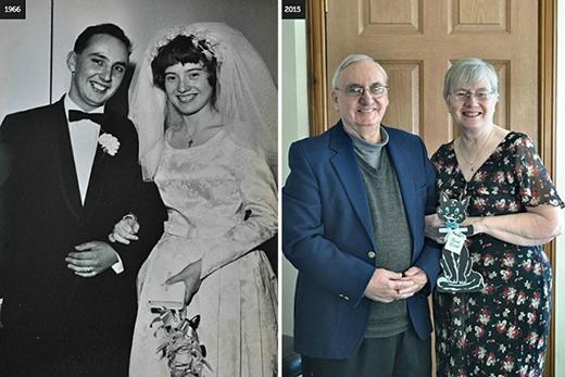 CannyScot cho biết ông đã thực sự may mắn vì người vợ tuyệt vời và những khoảnh khắc bên nhau trong cuộc hôn nhân của họ từ năm 1966 đến nay.