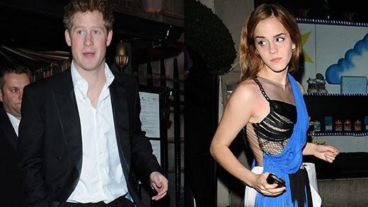 Xôn xao tin đồn Emma Watson hẹn hò với hoàng tử Harry