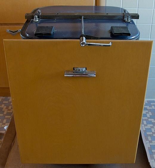 Đây là máy rửa chén.