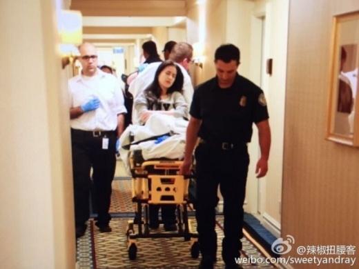 Huỳnh Thánh Y được đưa đi cấp cứu ngay trước thềm Oscar.