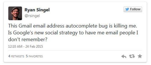 Cẩn thận với lỗi gửi sai người nhận của Gmail