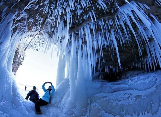 Ngắm cảnh tượng mùa đông lạnh giá nhất tại Mỹ