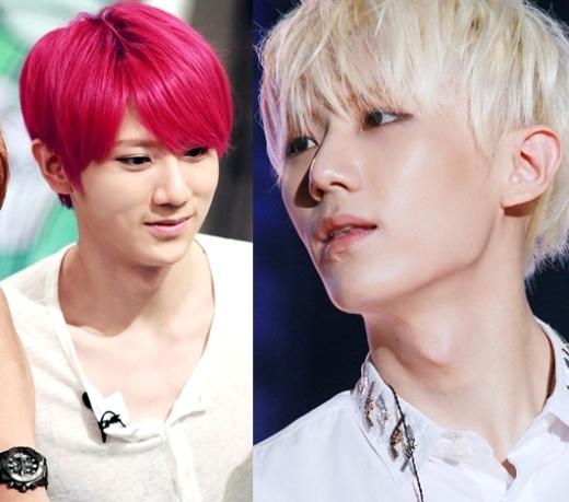 Seunghyun (Beast)luôn biết lựa chọn trang phục và màu tóc để tôn vinh làn da khiến các fan nữ không khỏi ganh tỵ.