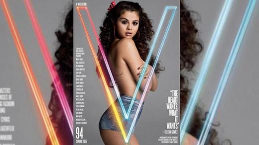 Miley Cyrus xuất hiện trong ấn phẩm của tạp chí V với gương mặt trang bìa là Selena Gomez