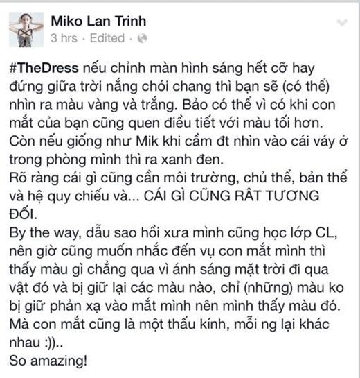 Miko Lan Trinh đưa ra những phân tích cũng như lập luận hết sức là khoa học. - Tin sao Viet - Tin tuc sao Viet - Scandal sao Viet - Tin tuc cua Sao - Tin cua Sao