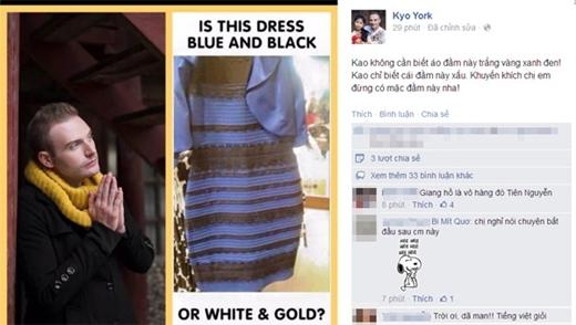 Kyo York thì hài hước khi cho rằng cái đầm này xấu. Khuyến khích chị em đừng mặc - Tin sao Viet - Tin tuc sao Viet - Scandal sao Viet - Tin tuc cua Sao - Tin cua Sao