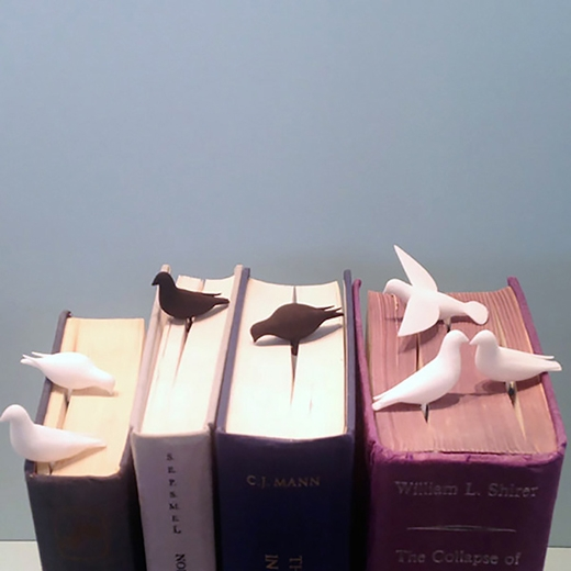 Bookmark với những con chim .