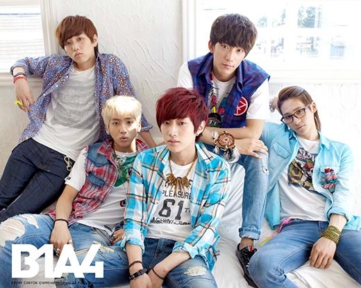 B1A4 hay còn gọi là Be the One, All For One với hàm nghĩa tất cả các thành viên và fan đều là một, tất cả vì một người. Cũng tương tự như 2NE1, tên nhóm B1A4 cũng được viết tắt và cách điệu khéo léo cho phong cách hơn.