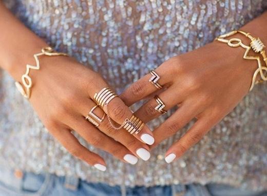 Mẹo đeo nhẫn thật phong cách như fashionista