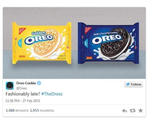 Oreo Cookie: Đến muộn nhưng sành điệu?