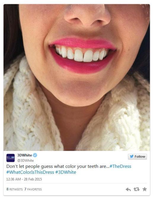 Kem đánh răng 3DWhite: 'Đừng để người khác đoán màu răng của bạn'