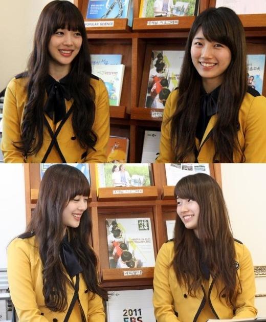 Sulli (f(x))vàSuzycũng là bạn thân của nhau vì cả hai theo học cùng một trường trung học khá nổi tiếng.
