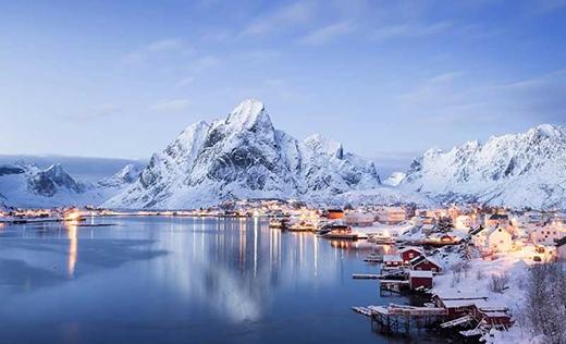 Đây là Reine, nơi được mệnh danh là ngôi làng đẹp nhất ở Na Uy.