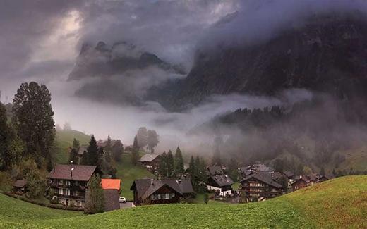Làng Alps của Grindelwald, Thụy Sĩ.