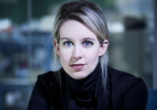 Nữ tỉ phú trẻ tuổi nhất Elizabeth Holmes