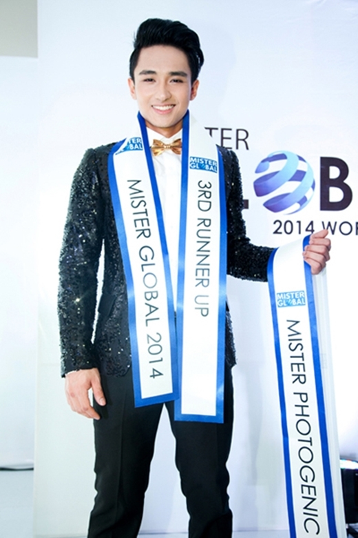 Hữu Vi tại Mister Global 2014. - Tin sao Viet - Tin tuc sao Viet - Scandal sao Viet - Tin tuc cua Sao - Tin cua Sao