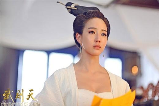 Trương Quân Ninh vai Hiền Phi độc ác