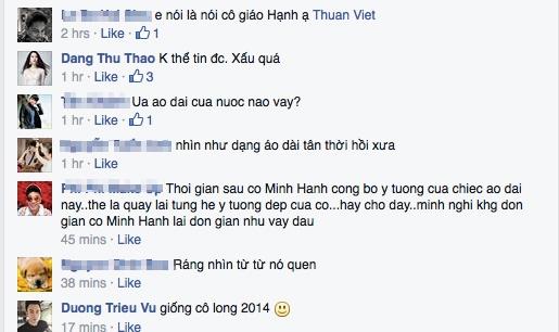 Hoa hậu Thu Thảo thẳng thắn chê thiết kế của NTK Minh Hạnh quá xấu. - Tin sao Viet - Tin tuc sao Viet - Scandal sao Viet - Tin tuc cua Sao - Tin cua Sao