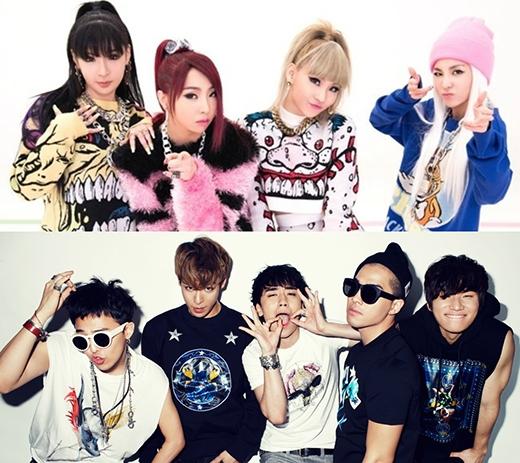 Big Bang và 2NE1 tiếp tục bá đạo trên đấu trường quốc tế