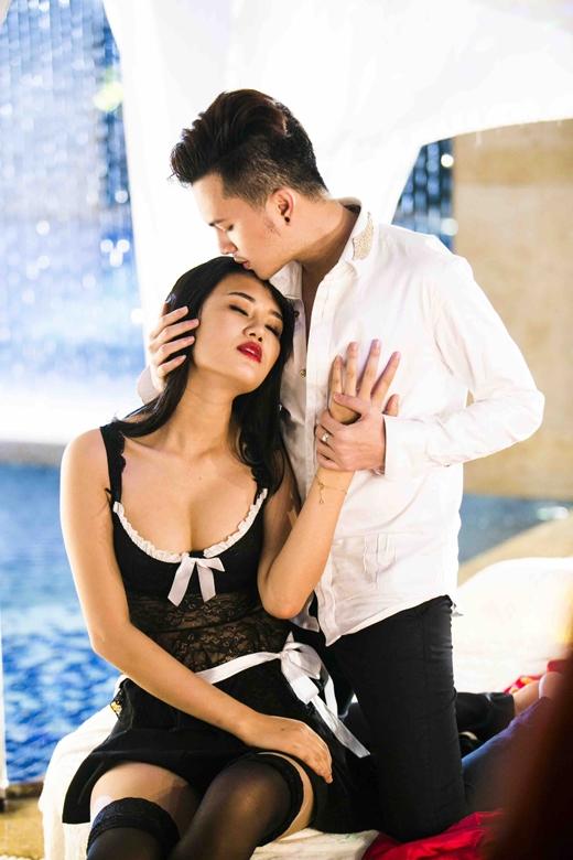 Đóng vai nữ chính trong MV của Nam Cường là người mẫu Lâm Thùy Anh. - Tin sao Viet - Tin tuc sao Viet - Scandal sao Viet - Tin tuc cua Sao - Tin cua Sao