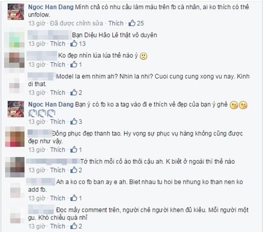 Những bình luận trái chiều từ phía cộng đồng mạng dành cho những chia sẻ của Ngọc Hân. - Tin sao Viet - Tin tuc sao Viet - Scandal sao Viet - Tin tuc cua Sao - Tin cua Sao