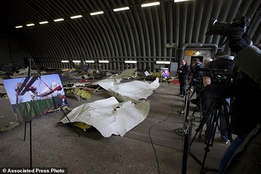 Chiếc máy bay đã bị bắn hạ trong một cuộc xung đột vũ trang ở miền đông Ukraine vào ngày 17 tháng 7 năm ngoái.