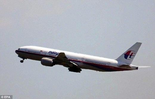 Bức hình chụp lại chiếc máy bay MH17 khi nó cất cánh tại sân bay Schiphol gần Amsterdam vào ngày xảy ra tai nạn thảm khốc trên.