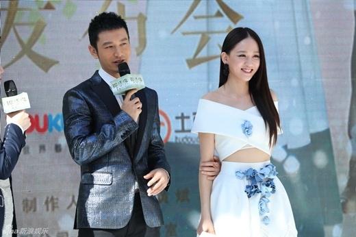 Huỳnh Hiểu Minh làm hầu gái, cố tình lẳng lơ với Trần Kiều Ân