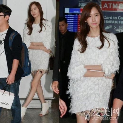 Thành viên Yoona chân cong và gầy đến mức báo động.