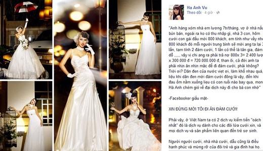 Siêu mẫu Hà Anh: Xin đừng mời tôi đi ăn đám cưới