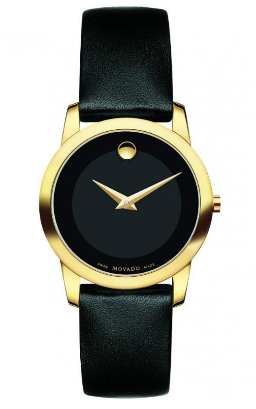 Museum Classic Women's Gold PVD Watch 28 mm Mã sản phẩm #: 298007 Giá: 13,990,000 VND – giảm còn 12,600,000 VND