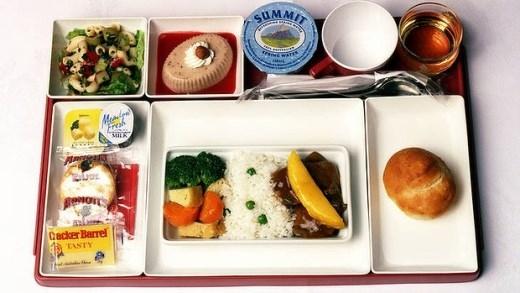 Thèm thuồng với những bữa ăn của các hãng máy bay trên thế giới