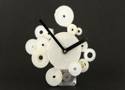 Đồng hồ làm từ các bộ phận trong máy in