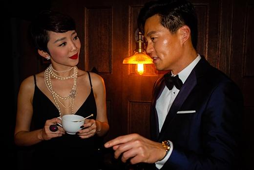 Tóc Tiên trò chuyện thân thiết với diễn viên Lee Seo Jin. - Tin sao Viet - Tin tuc sao Viet - Scandal sao Viet - Tin tuc cua Sao - Tin cua Sao