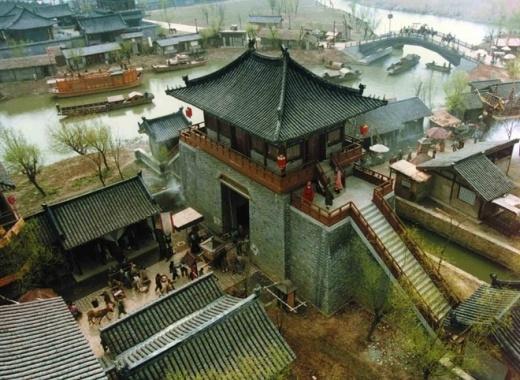 Phim trường Vô Tích quay Võ Mị Nương truyền kỳ, có kiến trúc y chang nhà Tống, Đường