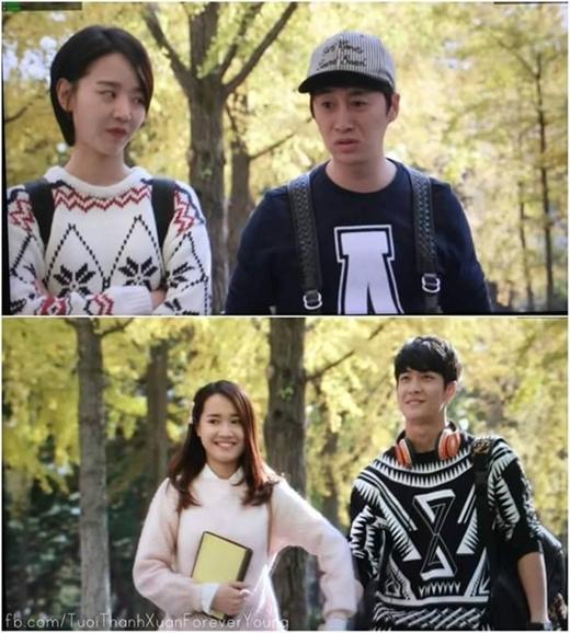 Lee Kyu Bok vai Sung Jae: Trong Tuổi thanh xuân, Sung Jae là bạn học của Junsu, Miso và Linh. Song ngoài đời, nam diễn viên này sinh năm 1981, hơn Hae Sun 8 tuổi, Nhã Phương 9 tuổi và Kang Tae Oh 13 tuổi. - Tin sao Viet - Tin tuc sao Viet - Scandal sao Viet - Tin tuc cua Sao - Tin cua Sao