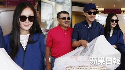 Dương Mịch khe khắt với nhà chồng, cấm họ hàng gặp con gái