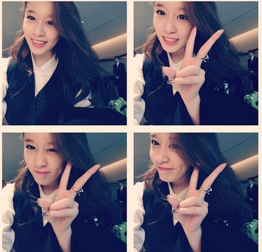 Jiyeon hào hức khoe hình ảnh cực đáng yêu khi mở tài khoản Instagram khiến fan thích thú
