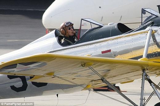 Những hình ảnh trước khi cất cánh của Harrison
