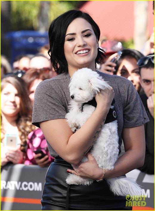 Demi Lovato thừa nhận cực kì yêu cơ thể của mình