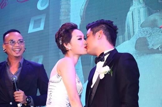 Lễ cưới của Trà My Idol và bạn trai đại gia Tô Văn Đức là một trong những đám cưới sang trọng nhất showbiz Việt năm 2014. - Tin sao Viet - Tin tuc sao Viet - Scandal sao Viet - Tin tuc cua Sao - Tin cua Sao