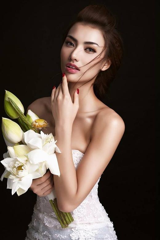 Hồng Quế từng bị dính nghi án thi chui Hoa hậu Đông Nam Á 2014.