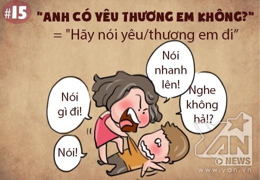 Giải mã hội chị em phụ nữ với loạt tranh Từ điển con gái siêu đáng yêu