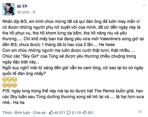 Sơn Tùng M-TP sẽ vắng mặt liveshow 5 The Remix - Tin sao Viet - Tin tuc sao Viet - Scandal sao Viet - Tin tuc cua Sao - Tin cua Sao